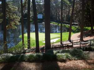 #5 on Augusta National's Par 3 course