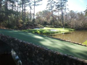 Perhaps the most famous hole in the world, Amen Corner