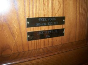 Tiger's locker