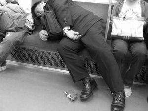 asleep-b-w